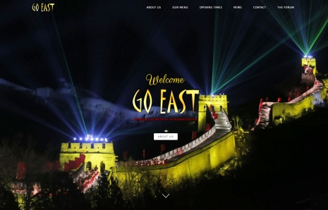Go East Website